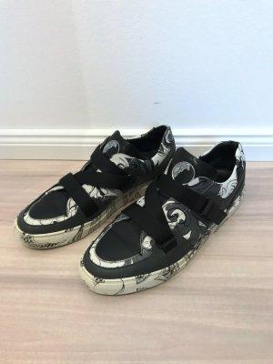 Versace Skaterschoenen zwart-room Leer