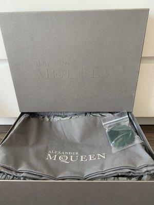 Alexander McQueen Wysokie trampki biały-zielony