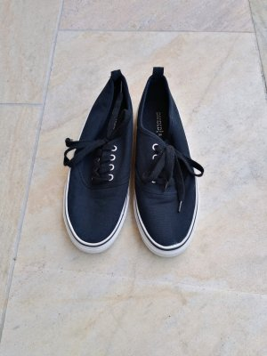 H&M Lace Shoes black cotton