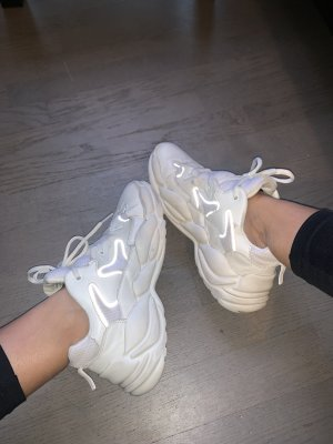 BSK by Bershka Wedge Sneaker white-natural white