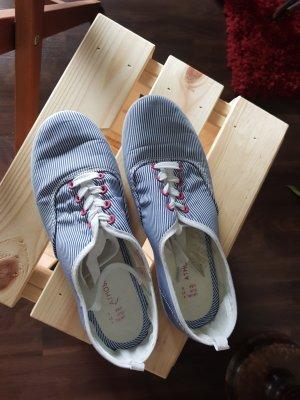 Sneakers Blau Weiß