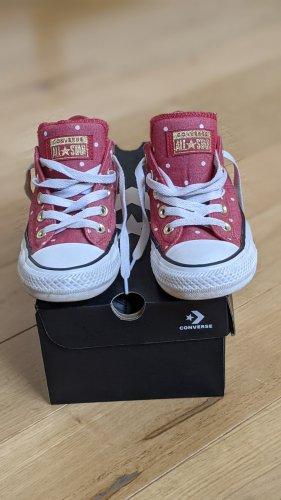 Converse Zapatos de patinador rojo claro