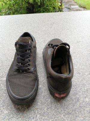 Vans Wedge Sneaker black brown