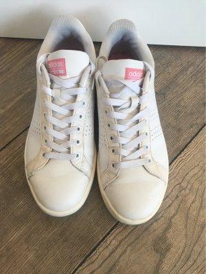 Adidas NEO Zapatilla brogue blanco-rosa