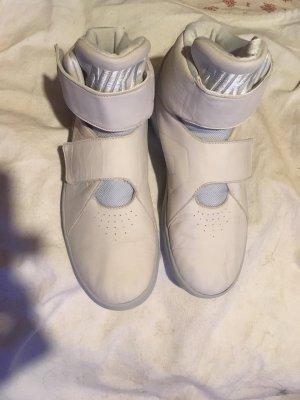 Nike Zapatillas con velcro gris claro Cuero