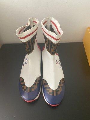 Fendi Zapatillas deslizantes blanco
