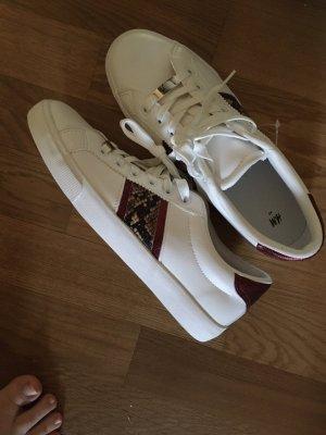 H&M Sneaker con zeppa bianco