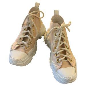N°21 Sneaker alta rosa antico