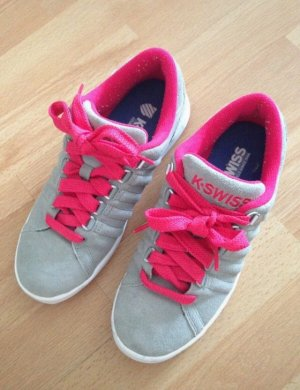 Sneakers K-Swiss in Grau Veloursleder