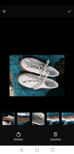 Puma Sneaker con zeppa bianco Pelle