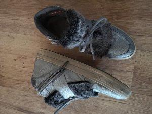 sneakers / Leder Schuhe
