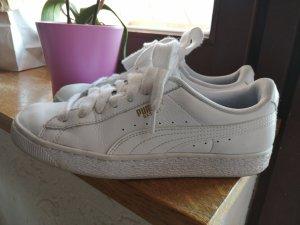 Sneakers Puma Basket weiss Gr. 39