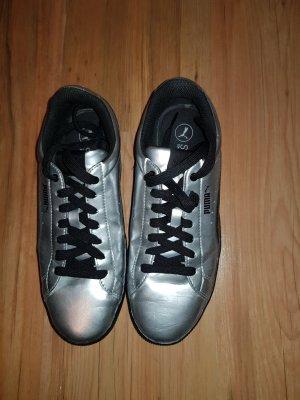 Puma Sneakers met veters zwart-zilver