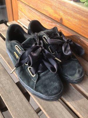 Sneakers PUMA Suede Heart Satin Wn's 362714 03 Puma Black/Puma Black