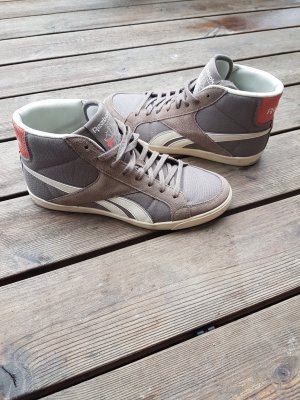 Reebok High Top Sneaker grey brown-apricot