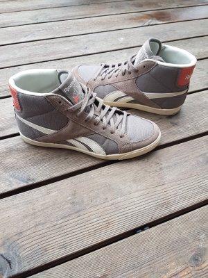 Reebok Sneaker alta marrone-grigio-albicocca