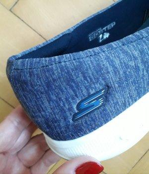 "Sneakers/Schlüpfschuhe von ""SKECHERS"" in jeansblau, Gr. 40"