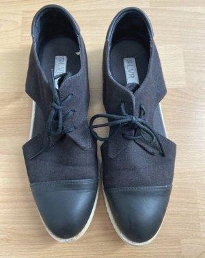 Adidas SLVR Sneakers met veters zwart-wit