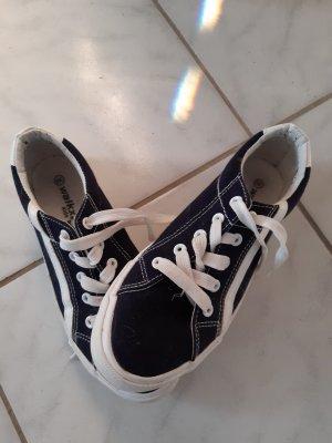 Skater Shoes white-dark blue