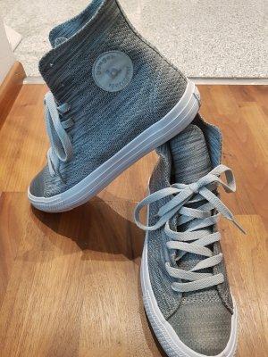 benger Sneaker stringata argento-bianco sporco