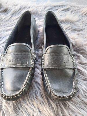 Sneakers von Esprit in dunkelblau mit weißen Nähten in Größe 42