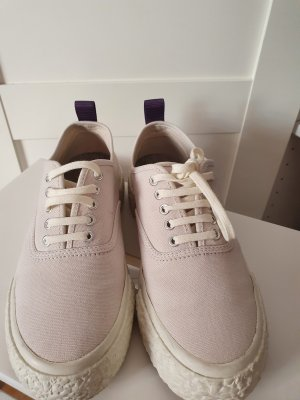 H&M Lace-Up Sneaker oatmeal-pink