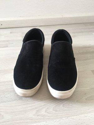 H&M Slip-on Sneakers black-white