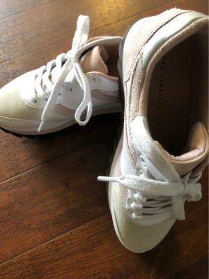 Zara Trafaluc Heel Sneakers multicolored
