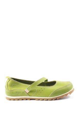 Snipe Zapatos Mary Jane verde look casual