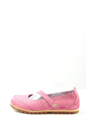 Snipe Mary Jane Halbschuhe pink Casual-Look