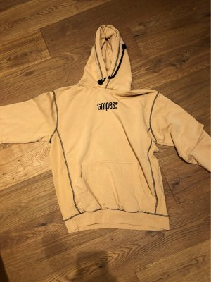 Snipes Hooded Sweater black-nude