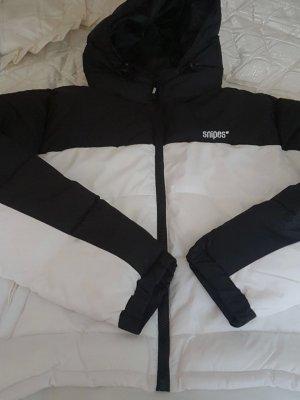 Snipes Winter Jacket white-black