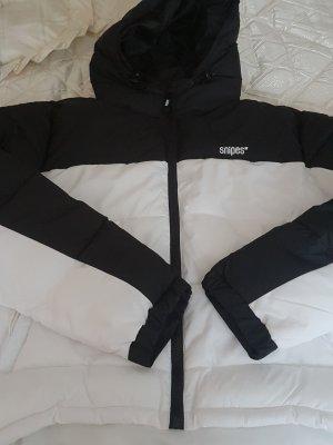 Snipes Giacca invernale bianco-nero