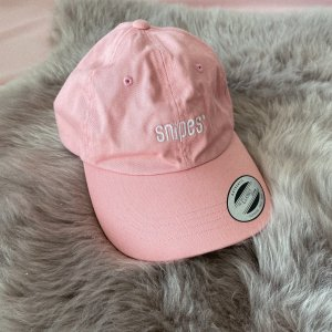 Snipes Kappe rosa/Weiß