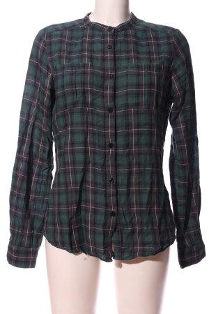 Snob Koszula w kratę Wzór w kratkę W stylu casual