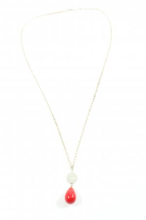 SNÖ of Sweden Collier Necklace silver-colored-red casual look
