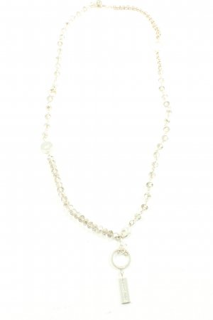 SNÖ of Sweden Collier Necklace silver-colored wet-look