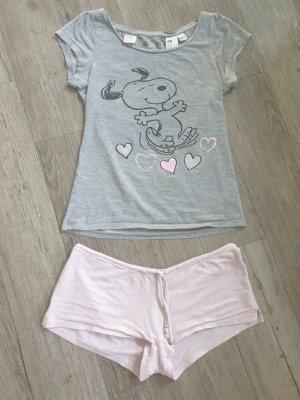 H&M Divided Pyjama light grey-light pink