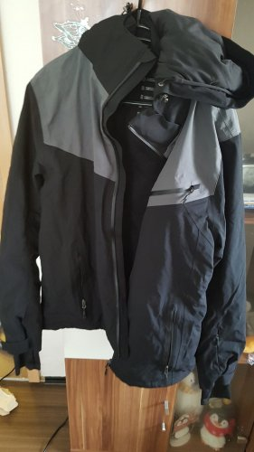 Winter Jacket black-grey