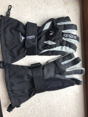 Padded Gloves black-light grey