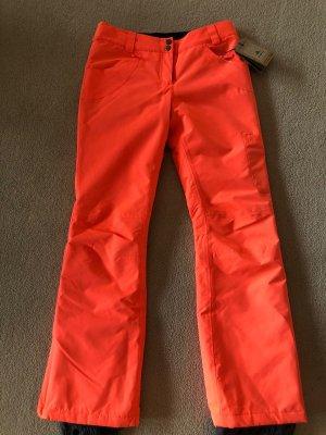 Firefly Pantalón térmico rojo claro