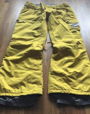 Burton Spodnie sportowe żółty-żółty neonowy