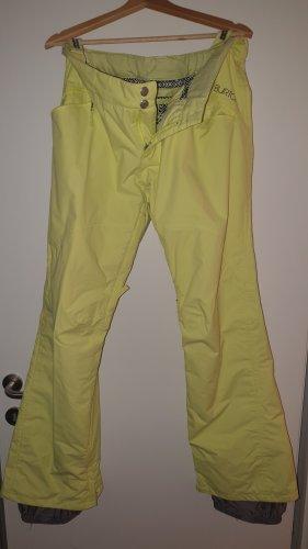 Burton Kombinezon na śnieg bladożółty-żółty