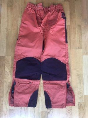 Oxbow Snow Pants neon orange-bordeaux