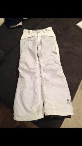 Protest Pantalon thermique blanc