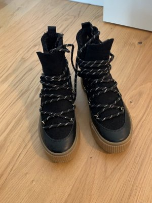H&M Bottine d'hiver noir