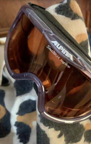 Alpina Glasses dark blue-apricot
