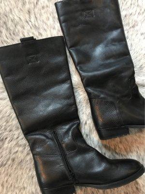 Görtz Shoes Riding Boots black leather