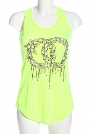 So sweet Tank Top embroidered lettering casual look