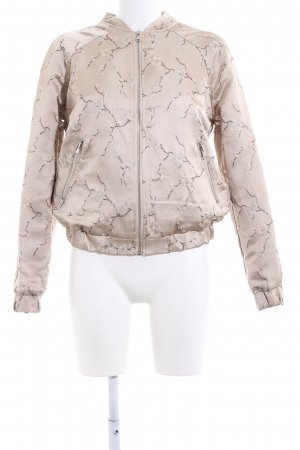 Soaked in luxury Blouson nude-creme Blumenmuster Casual-Look